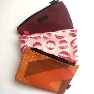 NWT 3 Ipsy make up bags